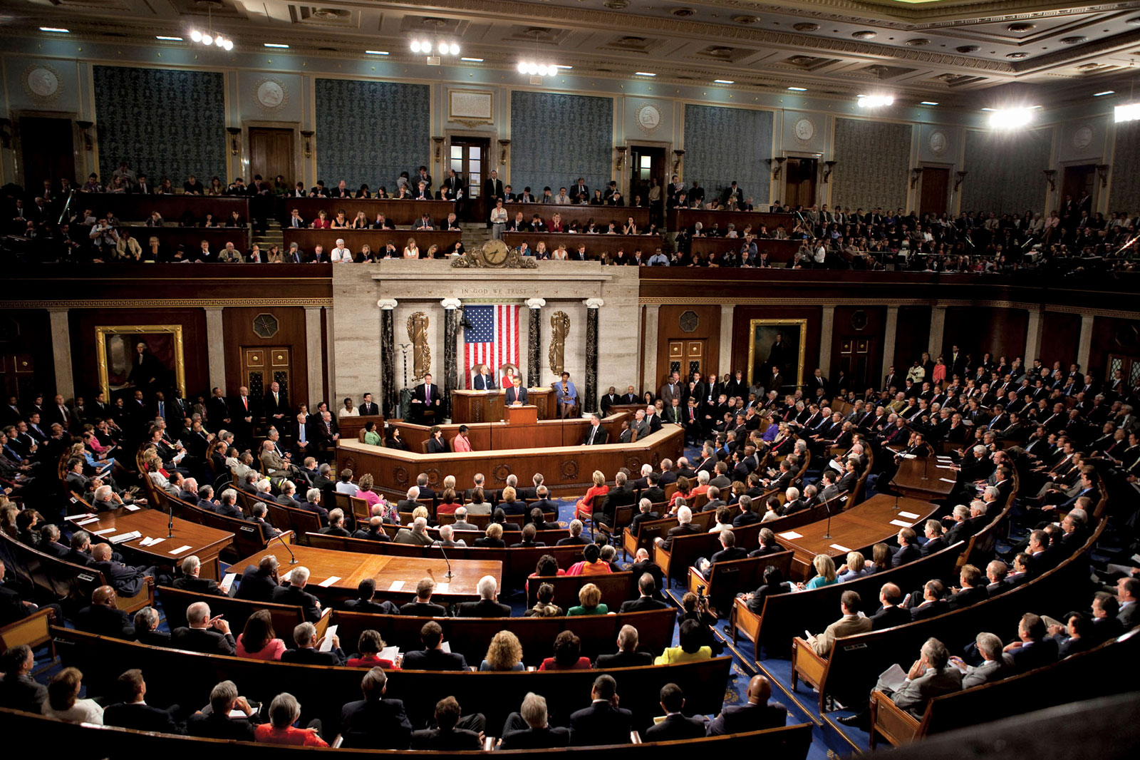 The United States House of Representatives debating the Fair Debt Collection Practices Act