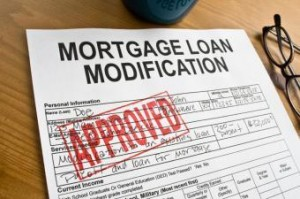 Mortgage loan modification paperwork approved